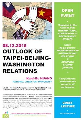 outlook of taipei-beijing-washington relations